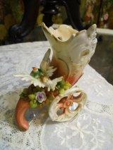 陶製 花入れ