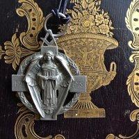 銀 フリーメイソン 天使付き 会員メダル