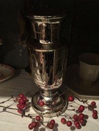 19世紀 フランスアンティーク マーキュリーガラスの花瓶