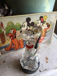 ヴィンテージ ディズニー プルートの香水瓶とポストカードのセット
